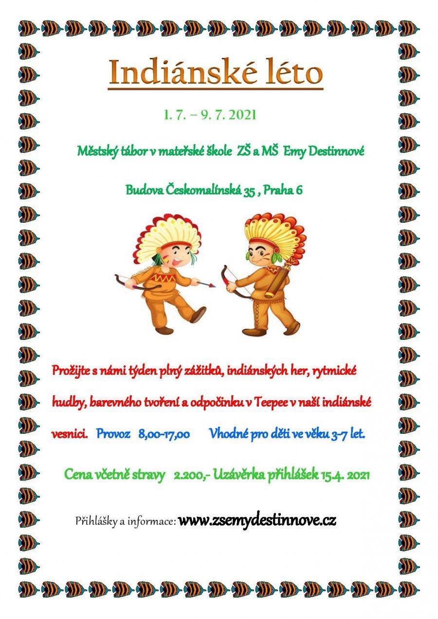 Indiánské léto plakát